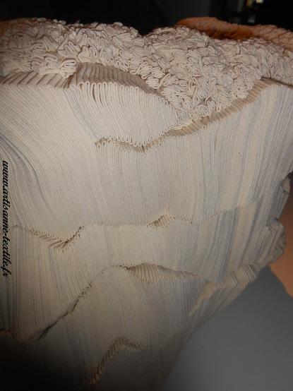 Sculpture textile, fondation Datris