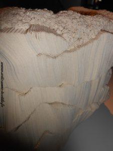 expo fondation Datris, sculpture textile simone Pheulpin 1