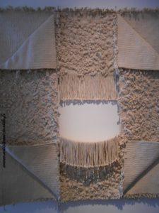 Sculpture textile 3 L'Isle sur la sorgue