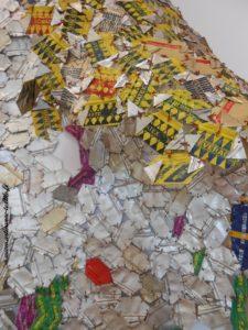 sculpture textile, 8° exposition de l'Isle sur la sorgue, fondation DATRIS