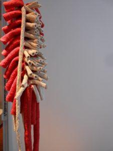 Sculpture textile, exposition de la fondation Datris à l'Isle sur la sorgue