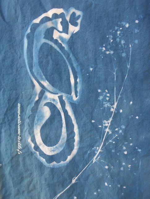 cyanotype brodé 1