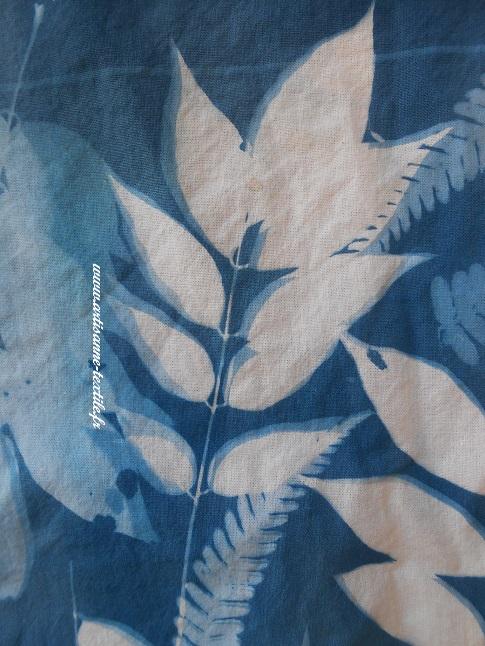 cyanotype sur tissu 3