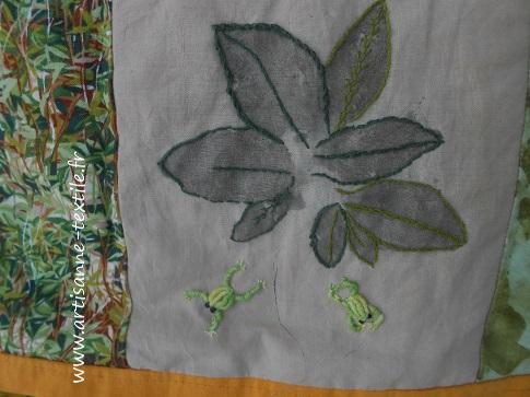 feuilles martelées 5