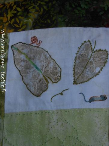 feuilles martelées 6