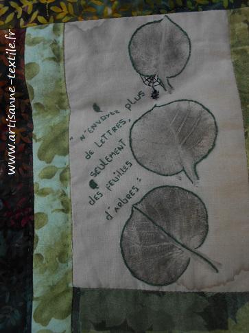 feuilles martelées 2