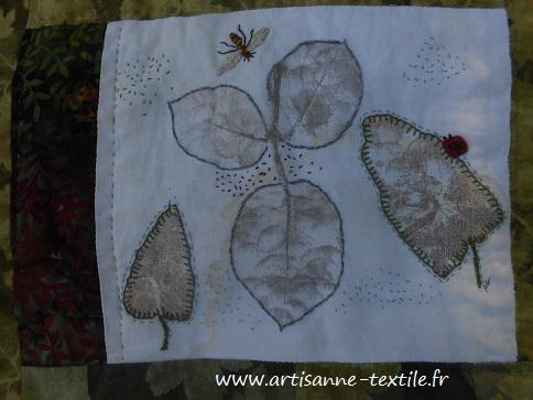 feuilles martelées 7