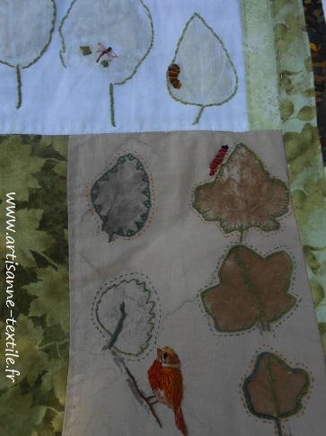 feuilles martelées 10