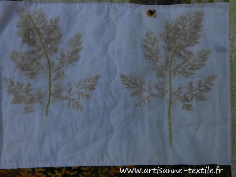feuilles martelées 9