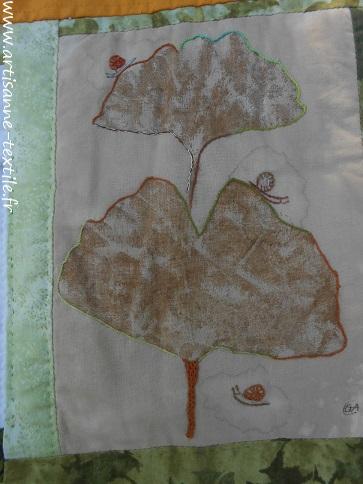 feuilles martelées 8