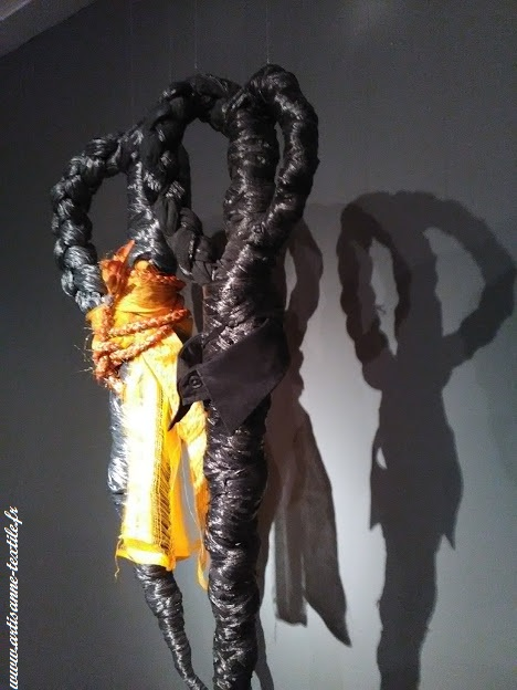 Sculpture textile fondation Datris 2018, 3