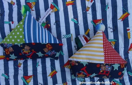 Corbeilles textiles et bateaux 1