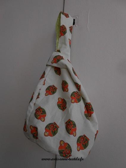 sac- baluchon 3 à fond rond (grab bag)