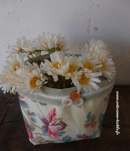 corbeille textile vintage 3