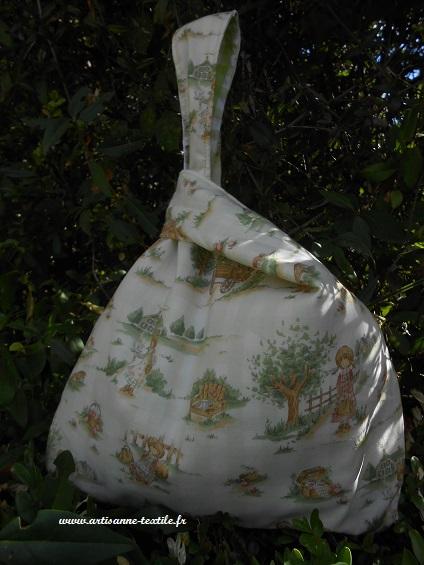 sac- balluchon avec Anne aux pignons verts