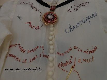 Journées du Patrimoine: atelier de l'artisane textile