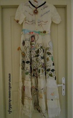 Journées du Patrimoine: la robe de mémoire