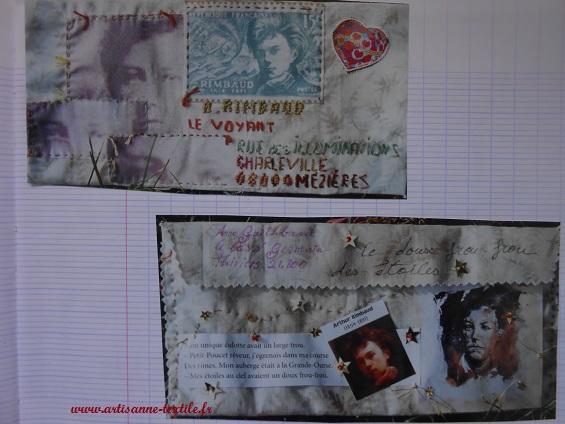 Poste restante à travers l'amour de Rimbaud