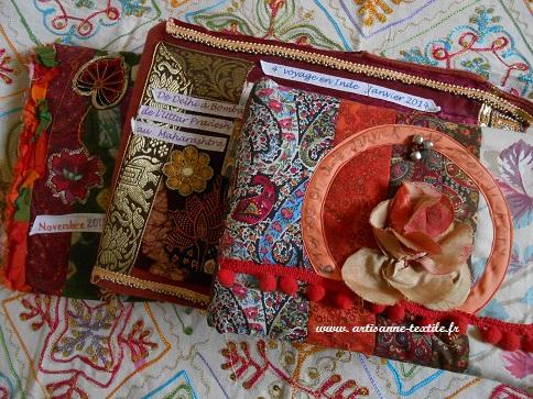 journal textile d evoyage en Inde 4, 5 et 6