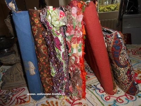 journal textile en Inde, les 6 premiers alignés
