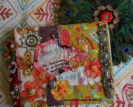 journal textile de voyage en Inde