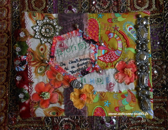 journal textile voyage Inde