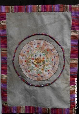 mandala 8 A l'aube sur les ghats - Copie