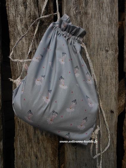 3 sacs DIY: le sac à dos danseuse