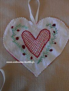 coeur brodé 3