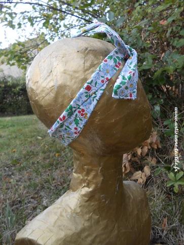 bandeaux DIY à fleurs et fil fer
