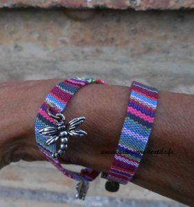 étuis à lunette et bracelets liens-doubles
