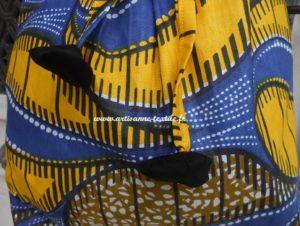 commande textile: détails des yoyos