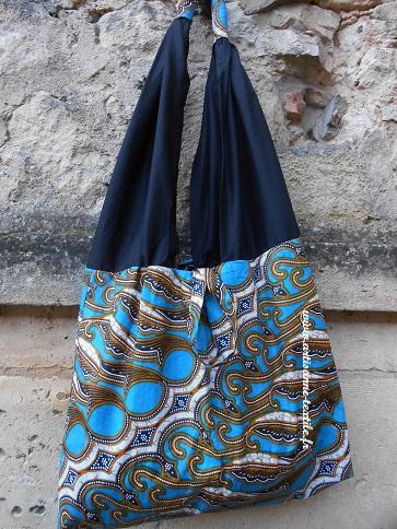 commande textille, sac ethnique en wax