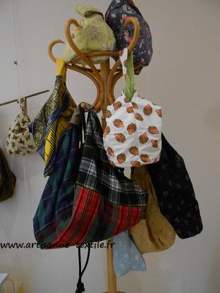 boutique éphémère de l'artisane -textile