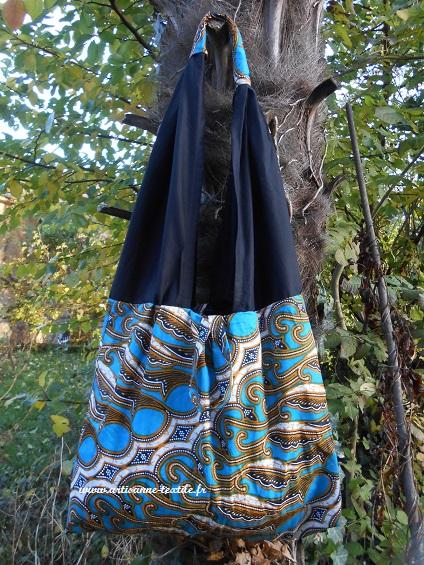 commande textile, sac ethnique en wax