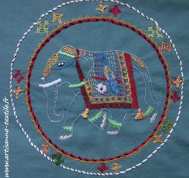 Broderie du kimono DIY artisanne-textile