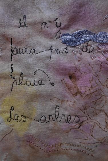 Pyrogravure sur tissu et piqué libre- journal textile n° 4-