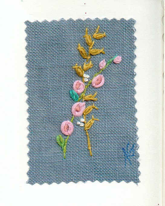 bouquet brode 21