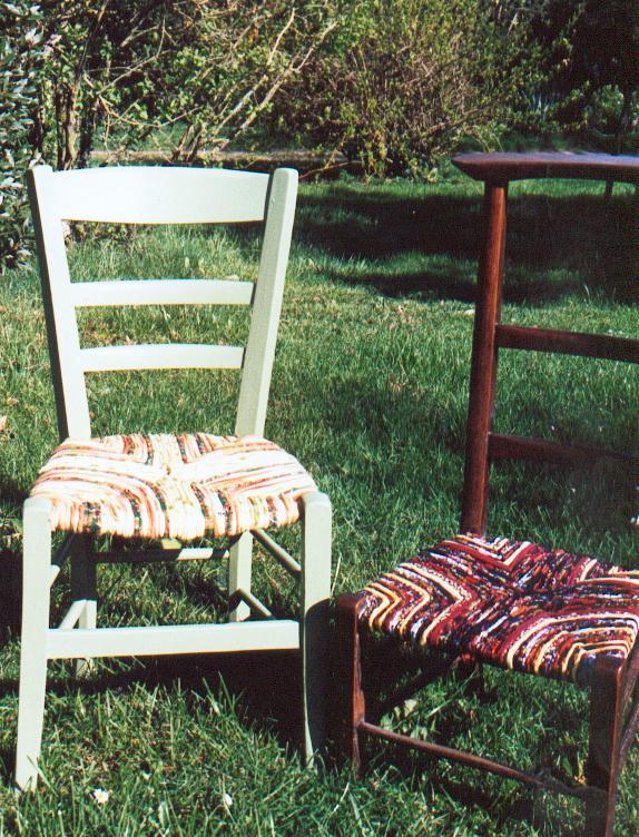 chaises 1 et 21